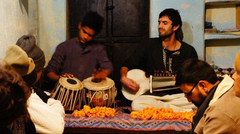 מופע מוסיקה הודית קלאסית