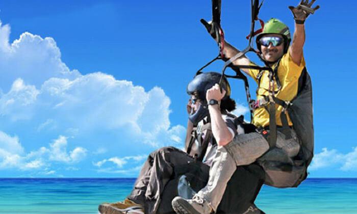 גרופון טיסה במצנח רחיפה עם סקאי ליין לגעת בשמים! חוויית רחיפה עם מצנח טנדם מול חופי שפיים ב- 149 ₪ בלבד! אפשרות לצילום וידאו למזכרת