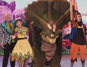 כרטיסים מוזלים למשפחת קדמוני בממלכת הדינוזאורים - חנוכה 2017
