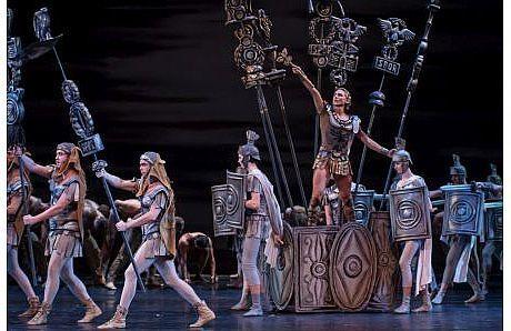 תיאטרון מחול יורי גריגורוביץ' - ספרטקוס כרטיסים